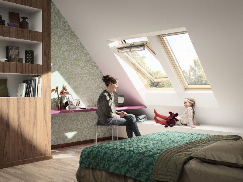 Dřevěná střešní okna