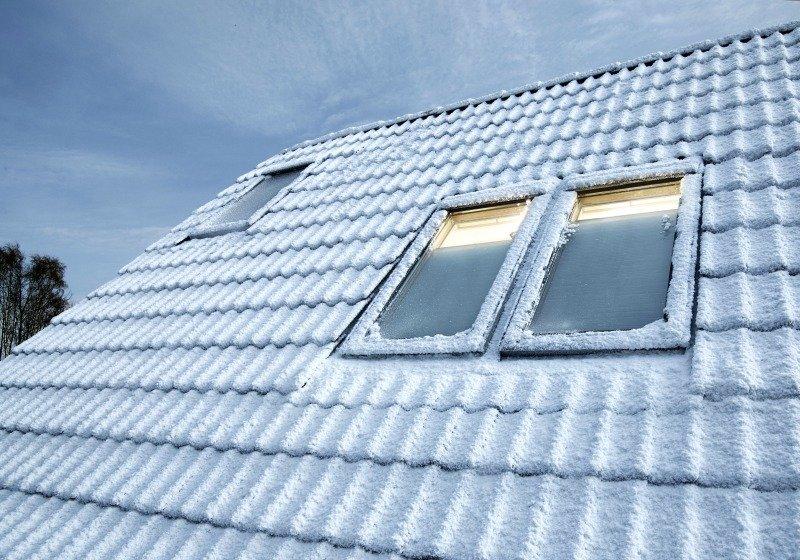 rozmístění střešních oken
