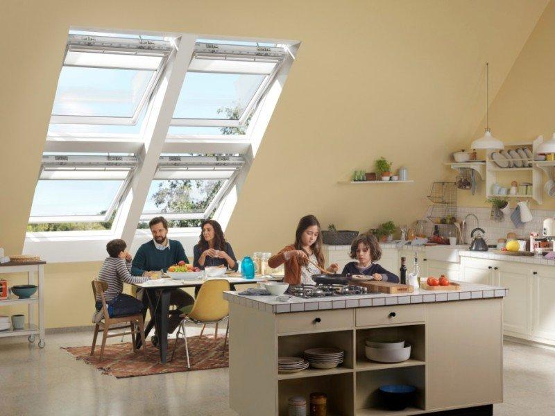 Správné umístění střešního okna