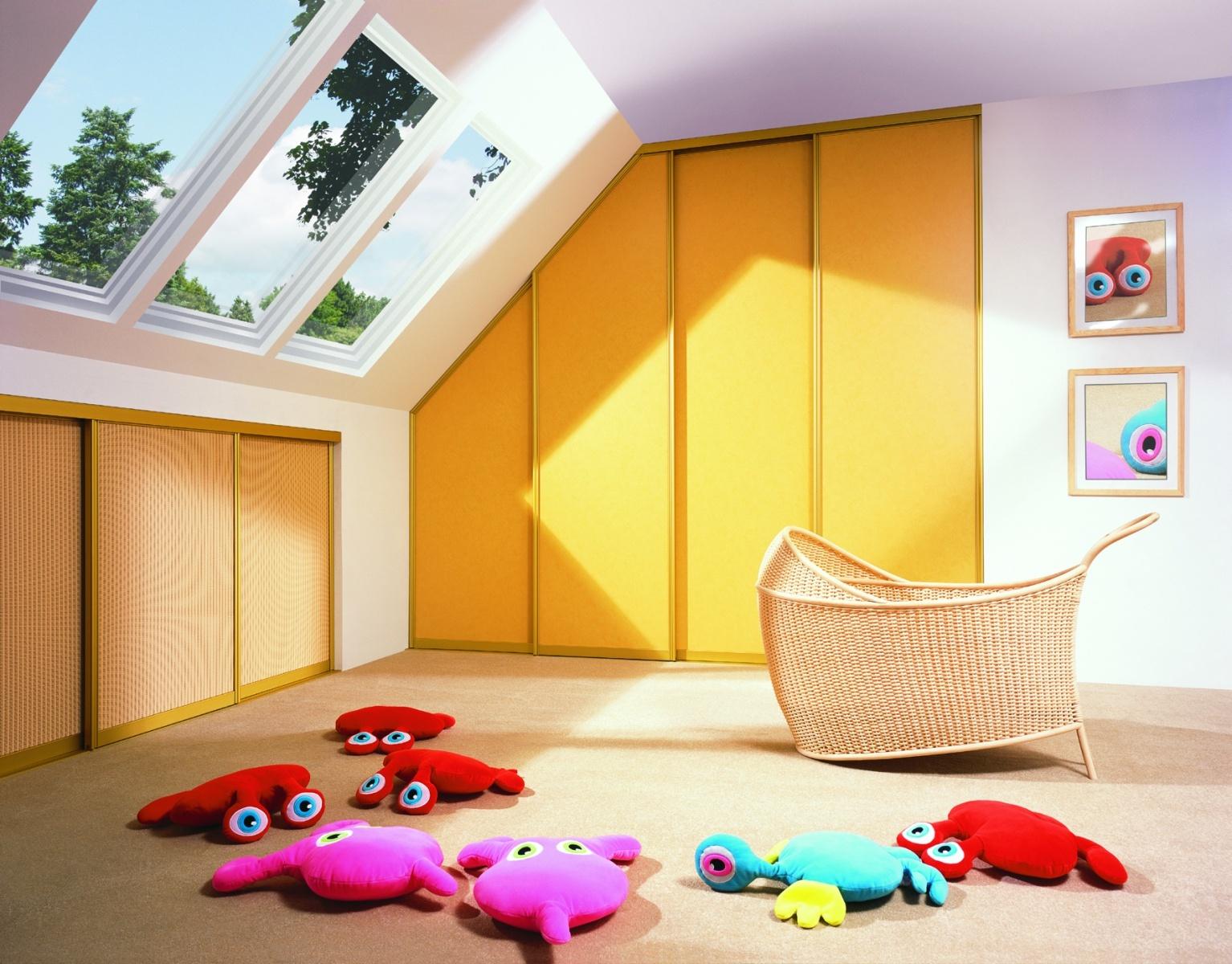 Jak vytvořit v podkroví dětský pokoj snů?
