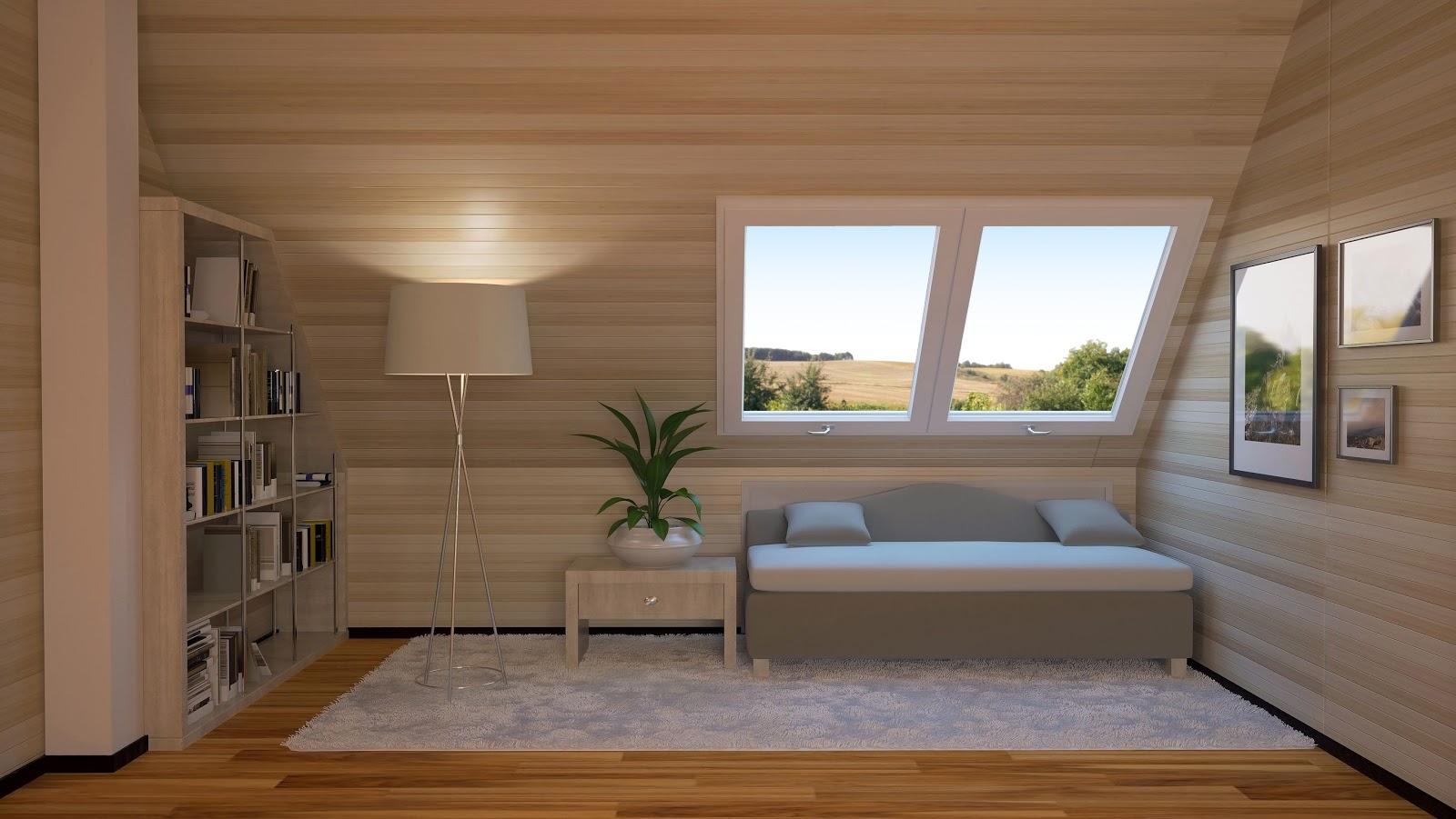 Zútulněte si byt tím správným nábytkem do podkroví